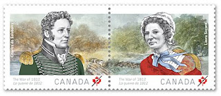 Canada: The War of 1812: Laura Secord and Charles de Salaberry - www.canadapost.ca