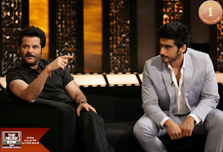 Anil & Arjun Kapoor on The Front Row with Anupama Chopra