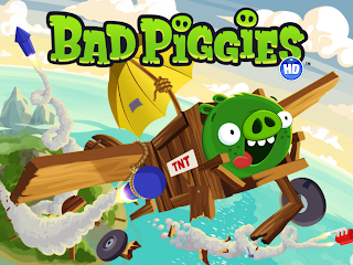 Rovio New Game Bad Piggies HD Wallpaper