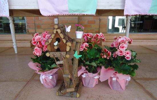 Decoraci n de fiesta de cumplea os en el jard n con - Decoracion para el jardin ...