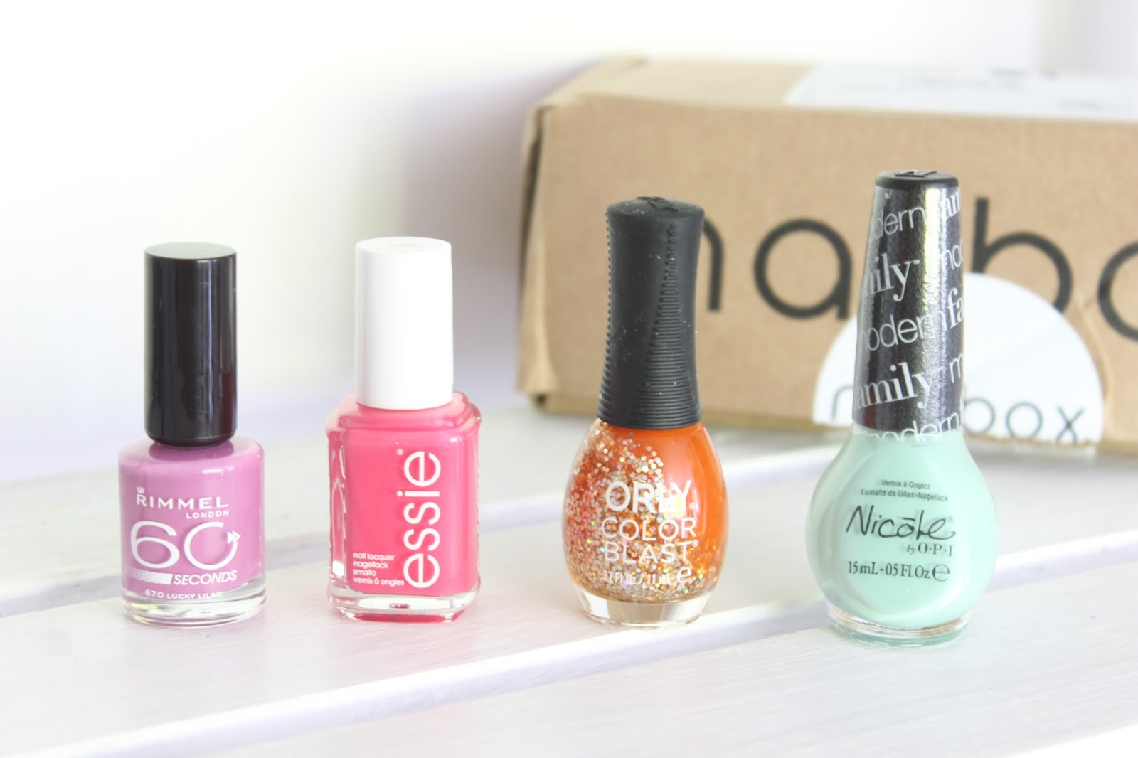 Nailbox Uk Monthly Nail Polish Subscription
