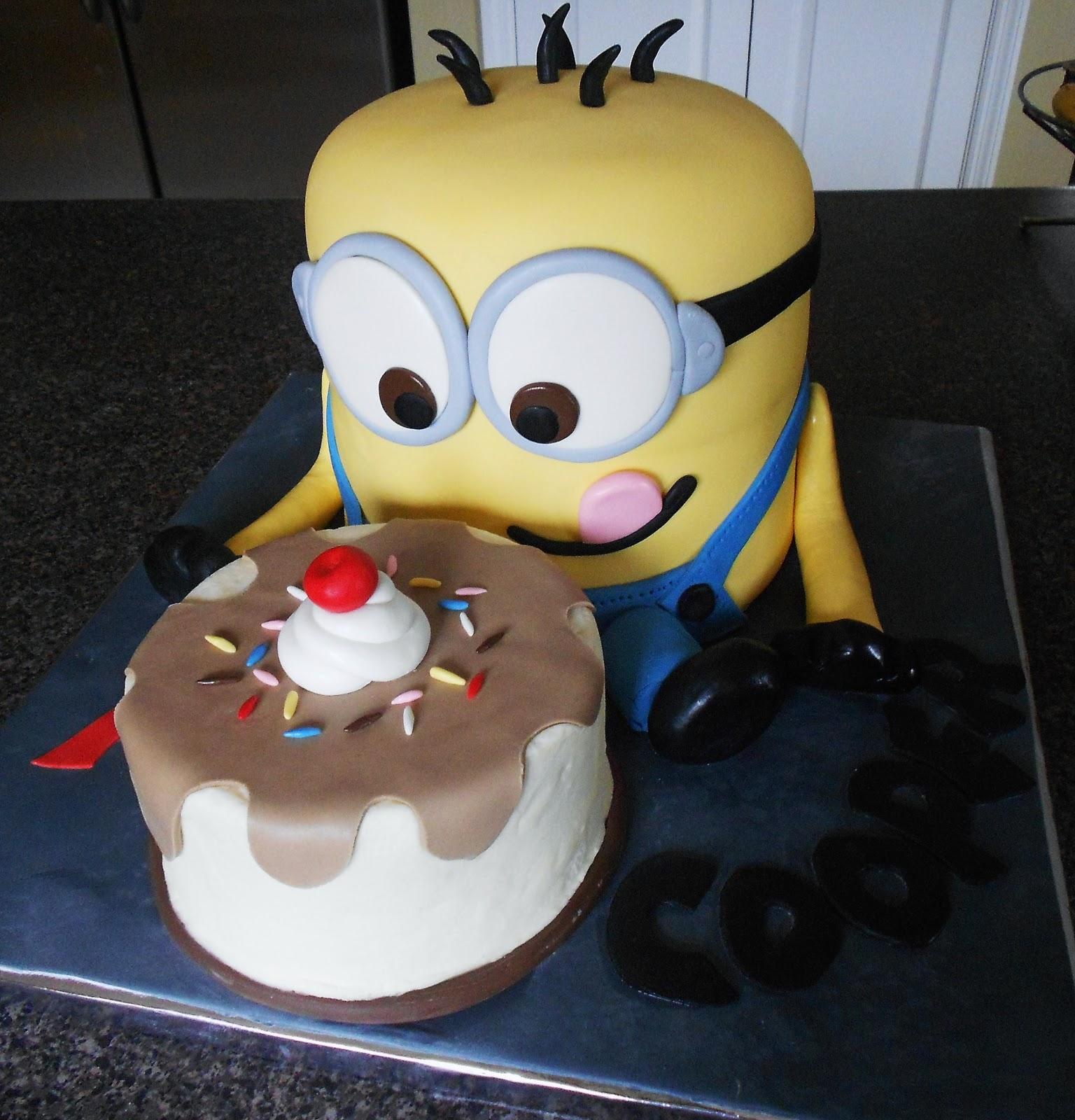 minion birthday cake ideas