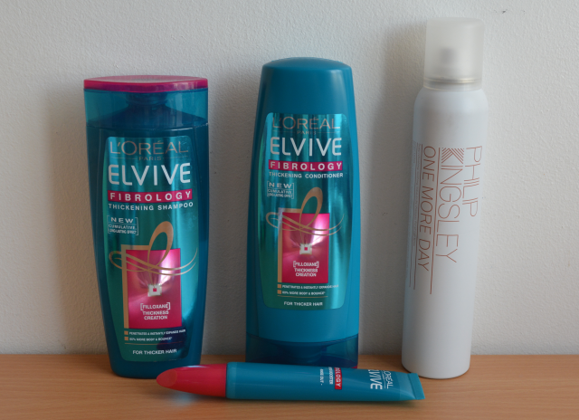 L'oreal fibrology, Philip Kingsley one more day dry shampoo
