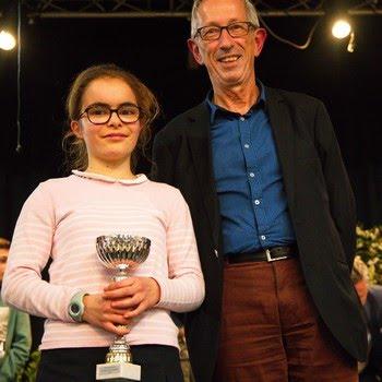 Une jeune lauréate