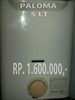 harga water heater bekas, harga heater bekas lebih murah