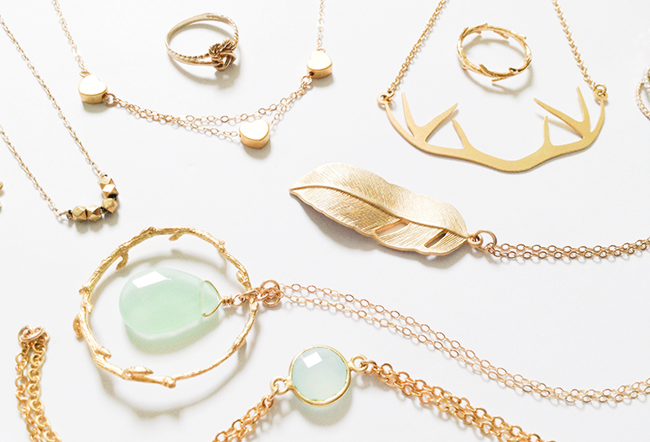 My favorite jewelry dainty jewelry fashion blog