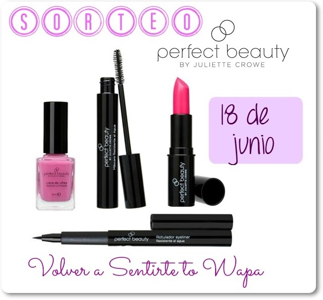 SORTEO -  Perfect Beauty by Juliette Crowe