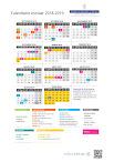 Calendario Escolar Avilés 2018/19