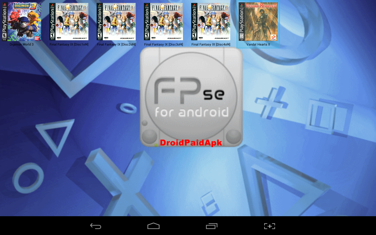 FPse For Android APK droidpaidapk
