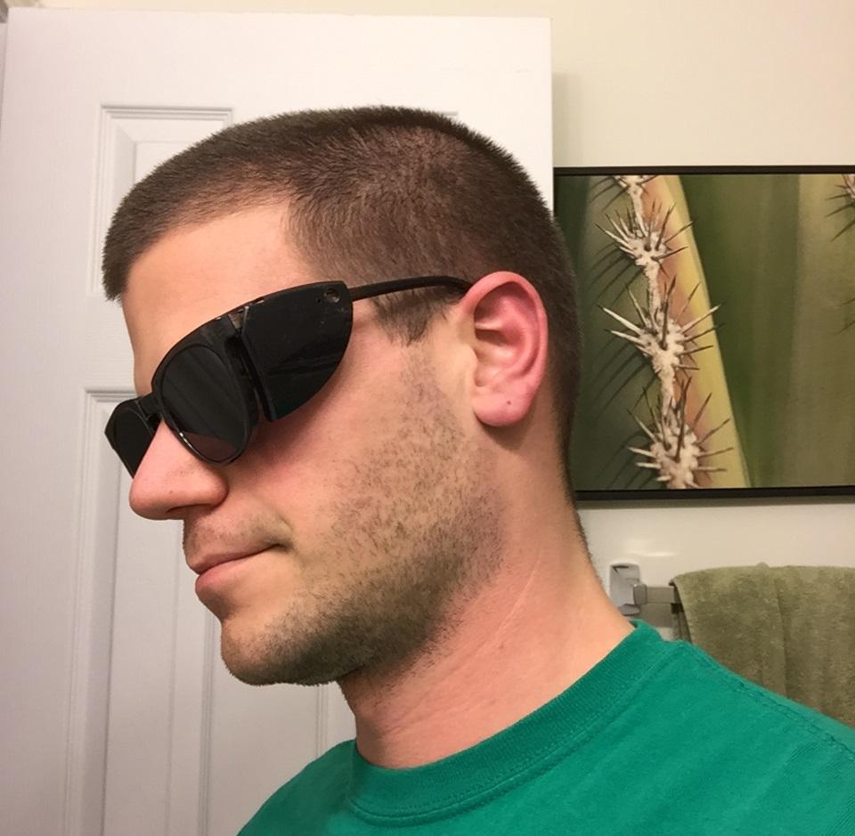 welder's glasses