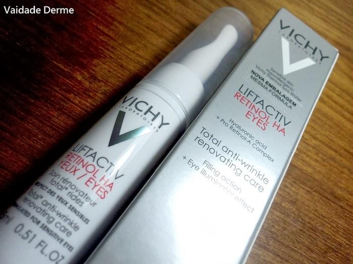 Liftactiv Retinol HA Olhos Antirrugas da Vichy