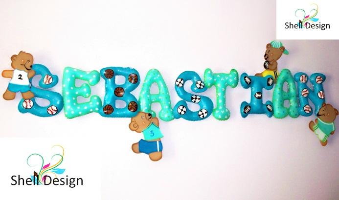 Letras decorativas para ni os y beb s letras decorativas - Letras decorativas para ninos ...