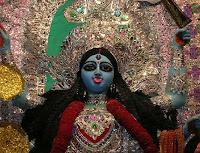 Image of Hindu goddess Kali