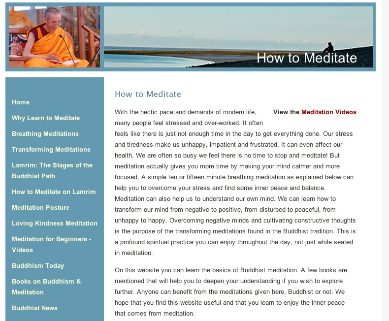 hindu and buddhist methods of meditation Meditation meditation is an  hindu, buddhist and christian,  it includes a supplement exploring different methods of meditation and the obstacles the.
