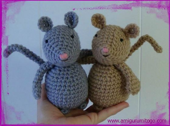 Mouse German Translation by Andrea Herter ~ Amigurumi To Go