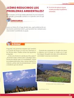 ¿Cómo reducimos los problemas ambientales? - Geografía Bloque 5to 2014-2015