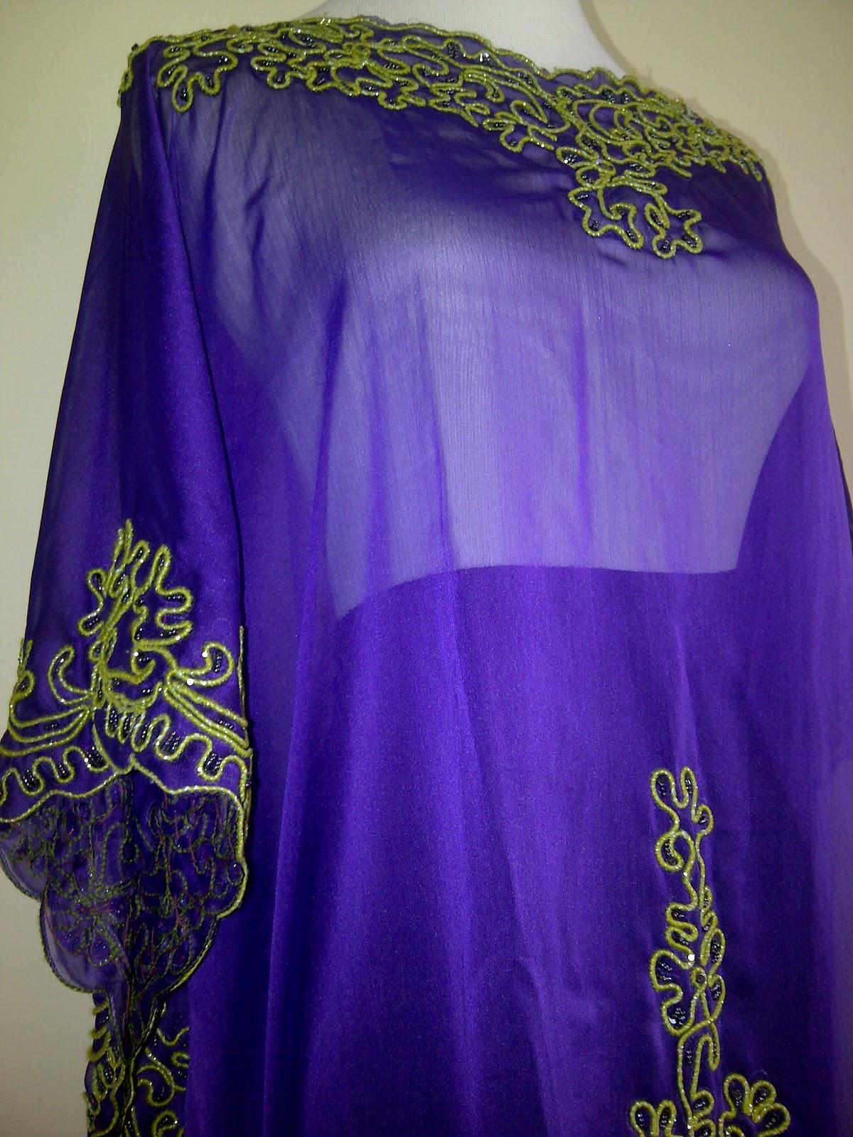 Long Dress Sifon Price Idr Tersedia Warna Ungu Putih Dan