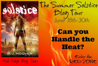 Guest Post & Giveaway: Solstice by PJ Hoover