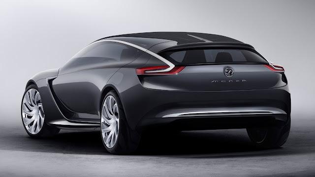 Opel/Vauxhall Monza Concept rear