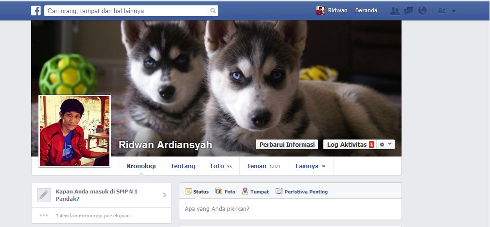 Update Tampilan Baru Facebook 2014