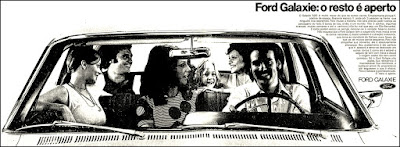 Ford Galaxie, brazilian advertising cars in the 70s; os anos 70; história da década de 70; Brazil in the 70s; propaganda carros anos 70; Oswaldo Hernandez;