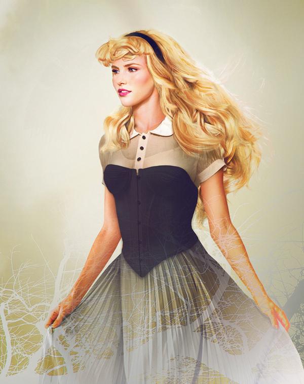 Princesa Aurora de La Bella Durmiente