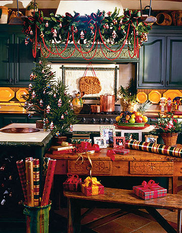 Modern House Christmas Home Decor And Christmas Tree