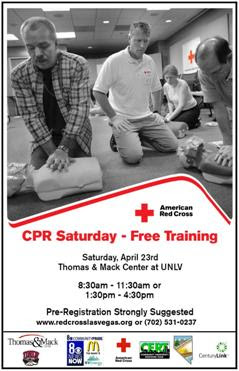 hosting a free adult cpr