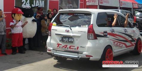 Sekitar 5000 Pelanggan Sambangi Posko Mudik Toyota