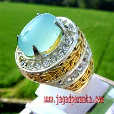 Batu Akik Spirtus Baturaja, Spirtus Blue Chalcedony