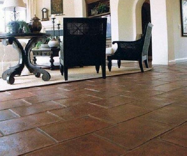 azulejos zaragoza pavimento barro manual