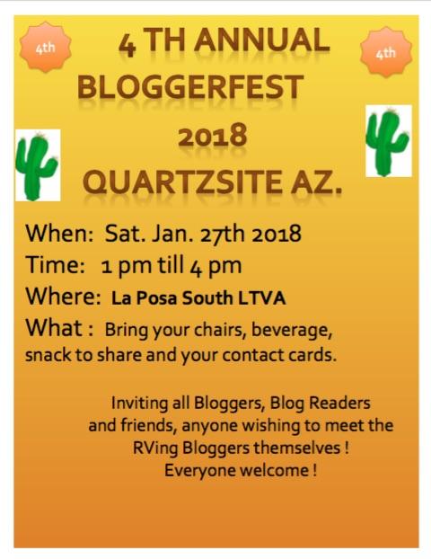 Bloggerfest 2018