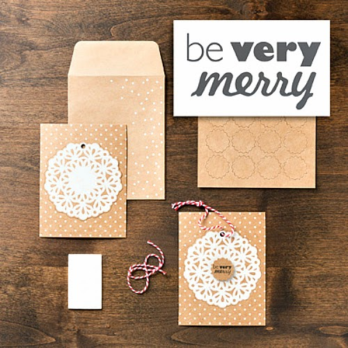 Stampin' Up! Snowflake Season Simply Sent Card Kit Bundle