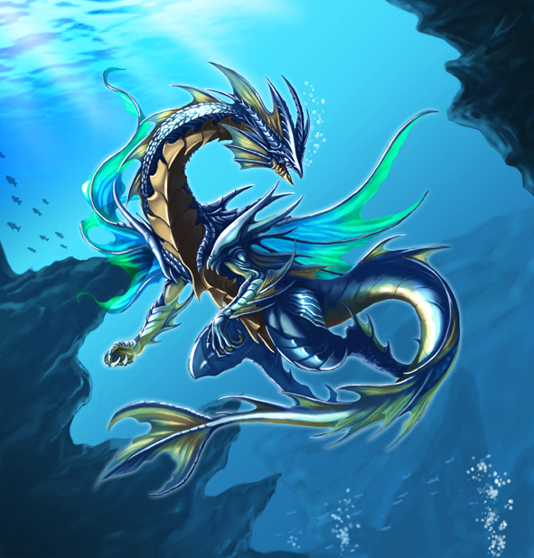 Best Water Dragon Pictures