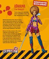 Adriana Survivor Zombicide Kickstarter Shopgirl