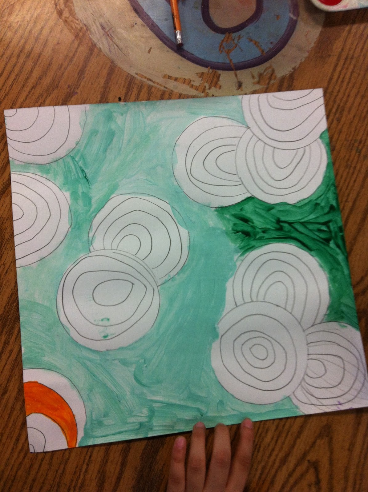 how to draw concentric circles freehand