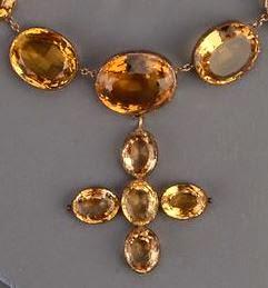 Recreating Georgian Jewelry: Crosses in Regency Jewelry