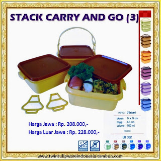 Stack Carry & Go, SCAG Tulipware 2013
