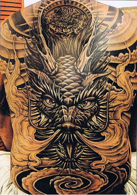 large Dragon Tattoo