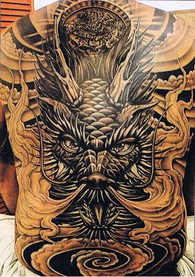 large Dragon Tattoo