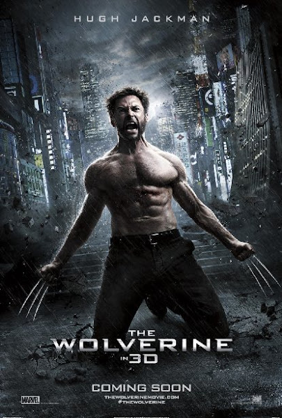 Poster Of The Wolverine 2013 ExTended 720p Hindi BRRip Dual Audio Full Movie