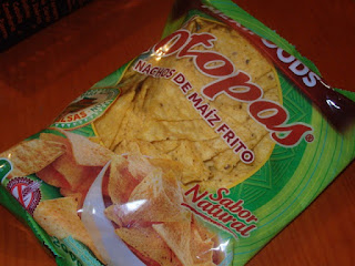 Totopos, sabor natural