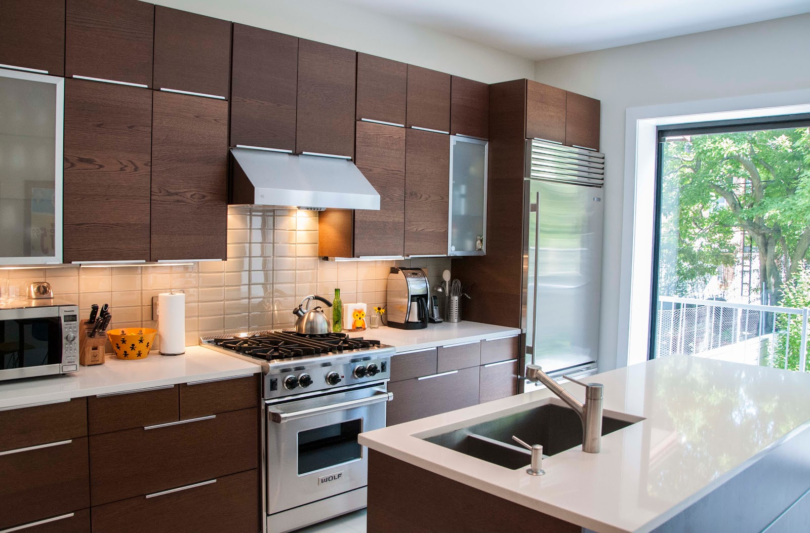 Bk to the fullest projects windsor terrace renovation for Kitchen cabinets at ikea