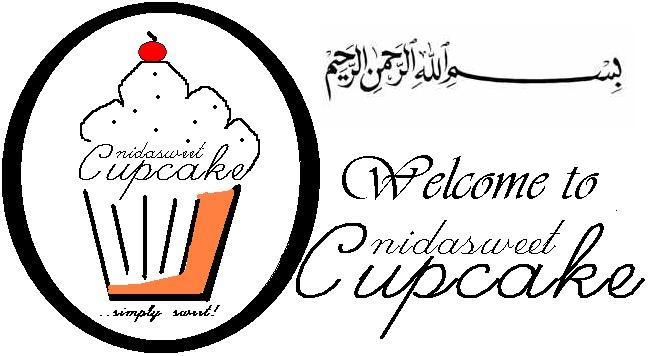 kek, cupcake, kek cawan, doorgift, cookies dan muffin Kota Bharu - n.i.d.a.s.w.e.e.t.c.u.p.c.a.k.e