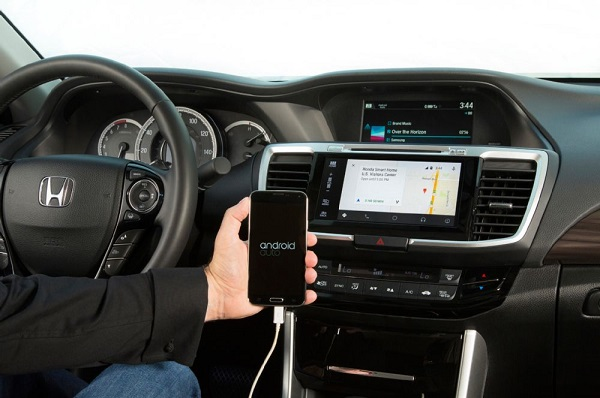 HONDA 2016 Accord announced with Android Auto and Apple CarPlay