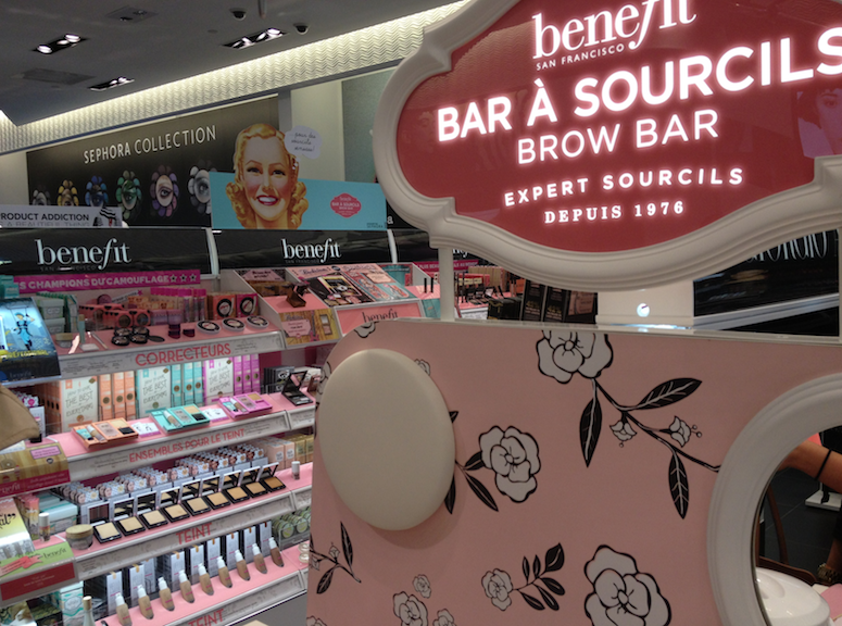 Maggie's Makeup: Benefit Brow Bar at Sephora and Gimme Brow Review