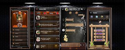 Download BBM Mod Dark Wood Themes