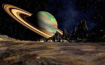 La inexplicable belleza del planeta saturno 1280x800