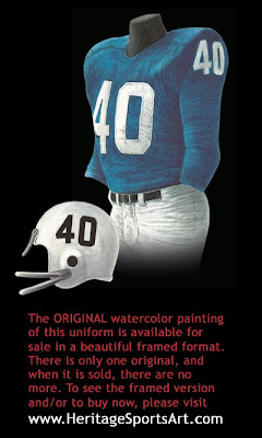 Buffalo Bills 1960 uniform