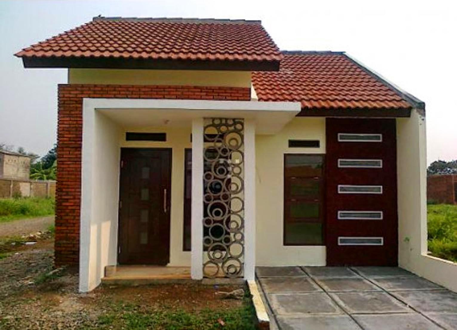 desain rumah minimalis type 45 yang memiliki kesan modern
